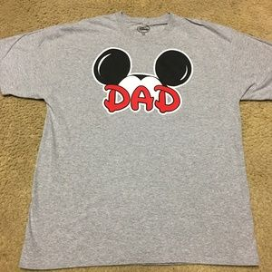 Disney Vintage Mickey Mouse DAD T-Shirt - XL / XG